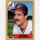 1987 Topps Baseball #077 Bryan Oelkers - Cleveland Indians Ex