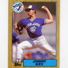 1987 Topps Baseball #029 Jimmy Key - Toronto Blue Jays