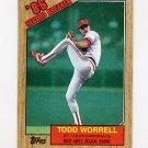 1987 Topps Baseball #007 Todd Worrell RB - St. Louis Cardinals NM-M