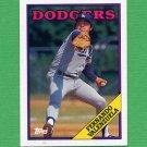 1988 Topps Baseball #780 Fernando Valenzuela - Los Angeles Dodgers ExMt