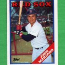 1988 Topps Baseball #757 John Marzano - Boston Red Sox