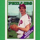 1988 Topps Baseball #756 Mike Maddux - Philadelphia Phillies