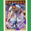 1988 Topps Baseball #742 Mark Clear - Milwaukee Brewers