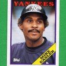 1988 Topps Baseball #741 Mike Easler - New York Yankees