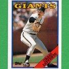 1988 Topps Baseball #734 Craig Lefferts - San Francisco Giants