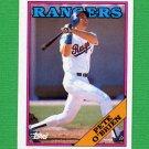 1988 Topps Baseball #721 Pete O'Brien - Texas Rangers