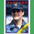 1988 Topps Baseball #711 Bill Gullickson - New York Yankees NM-M