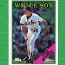 1988 Topps Baseball #688 Jim Winn - Chicago White Sox