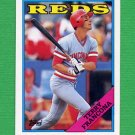 1988 Topps Baseball #686 Terry Francona - Cincinnati Reds