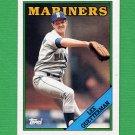 1988 Topps Baseball #656 Lee Guetterman - Seattle Mariners NM-M
