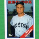 1988 Topps Baseball #653 Jeff Sellers - Boston Red Sox