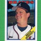 1988 Topps Baseball #652 Bruce Benedict - Atlanta Braves