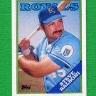 1988 Topps Baseball #638 Steve Balboni - Kansas City Royals