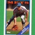 1988 Topps Baseball #610 Keith Hernandez - New York Mets NM-M