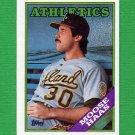 1988 Topps Baseball #606 Moose Haas - Oakland A's