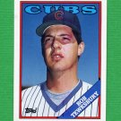1988 Topps Baseball #593 Bob Tewksbury - Chicago Cubs