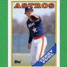 1988 Topps Baseball #587 Terry Puhl - Houston Astros