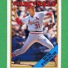 1988 Topps Baseball #586 Bob Forsch - St. Louis Cardinals