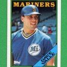 1988 Topps Baseball #583 Dave Valle - Seattle Mariners