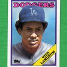 1988 Topps Baseball #581 Tito Landrum - Los Angeles Dodgers