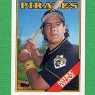 1988 Topps Baseball #567 Mike Diaz - Pittsburgh Pirates