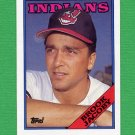 1988 Topps Baseball #555 Brook Jacoby - Cleveland Indians