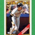 1988 Topps Baseball #547 Felix Fermin - Pittsburgh Pirates