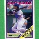 1988 Topps Baseball #481 Mariano Duncan - Los Angeles Dodgers
