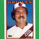1988 Topps Baseball #467 Don Aase - Baltimore Orioles