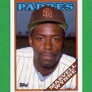 1988 Topps Baseball #454 Marvell Wynne - San Diego Padres
