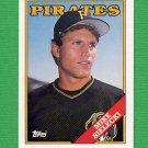 1988 Topps Baseball #436 Mike Bielecki - Pittsburgh Pirates