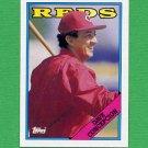 1988 Topps Baseball #422 Dave Concepcion - Cincinnati Reds ExMt