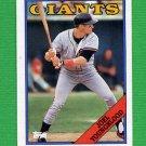 1988 Topps Baseball #418 Joel Youngblood - San Francisco Giants