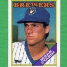 1988 Topps Baseball #417 Mark Ciardi - Milwaukee Brewers
