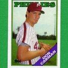 1988 Topps Baseball #415 Don Carman - Philadelphia Phillies