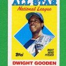 1988 Topps Baseball #405 Dwight Gooden AS - New York Mets