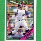 1988 Topps Baseball #385 Carlton Fisk - Chicago White Sox