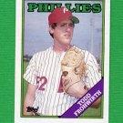 1988 Topps Baseball #378 Todd Frohwirth - Philadelphia Phillies