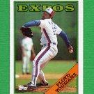 1988 Topps Baseball #365 Floyd Youmans - Montreal Expos