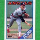 1988 Topps Baseball #363 Willie Fraser - California Angels