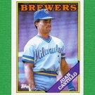1988 Topps Baseball #362 Juan Castillo - Milwaukee Brewers