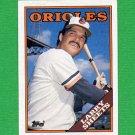 1988 Topps Baseball #327 Larry Sheets - Baltimore Orioles ExMt