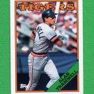 1988 Topps Baseball #320 Alan Trammell - Detroit Tigers