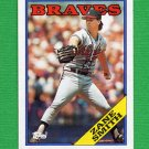 1988 Topps Baseball #297 Zane Smith - Atlanta Braves