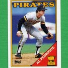 1988 Topps Baseball #294 Al Pedrique - Pittsburgh Pirates