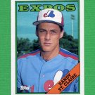 1988 Topps Baseball #279 Randy St. Claire - Montreal Expos