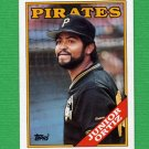1988 Topps Baseball #274 Junior Ortiz - Pittsburgh Pirates