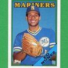 1988 Topps Baseball #258 Ed Nunez - Seattle Mariners