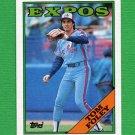1988 Topps Baseball #251 Tom Foley - Montreal Expos