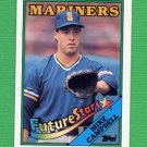 1988 Topps Baseball #246 Mike Campbell - Seattle Mariners